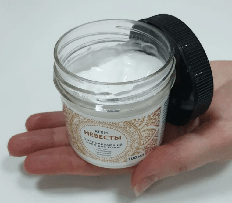 баночка крема